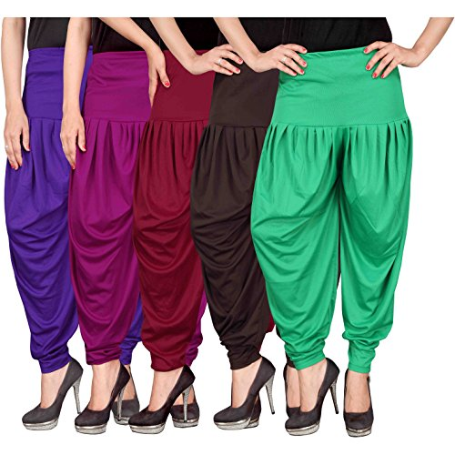 Culture the Dignity Women's Lycra Dhoti Patiala Salwar Harem Pants...