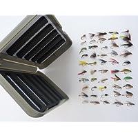 Trout Flies & fly 50 scatole gancio, un regalo - Sea Trout Fly Fishing