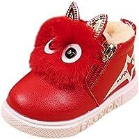 Heligen Kindermode Jungen Mädchen Sneaker Boots Kinder warm Baby Freizeitschuhe Winterschuhe Wasserdicht Winterstiefel Trekking Wanderschuhe Gefütterte Schneestiefel Outdoor Sneaker Boots