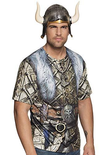 Boland T-Shirt Wikinger - Herren Gladiator Kostüm Tshirt