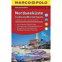 MARCO POLO Freizeitkarte Nordseeküste, Cuxhaven 1:110 000