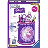 Ravensburger 12074 - 3D Puzzle Girly Girl Edition Utensilo Einhörner