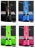 SixBros. SixJump 1,85 - 4,60 M Gartentrampolin versch. Farben/Größen Trampolin mit Sicherheitsnetz - 3