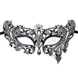 WINOMO Masque vénitien mascarade mode masque en métal Wedding Party Festival