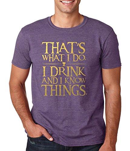 Daataadirect Herren T-Shirt Small Erikaviolett