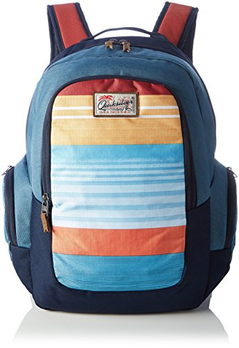 Quiksilver Mochila de a diario, Nasturticm Everyday Stripes (Multicolor) - EQYBP03391