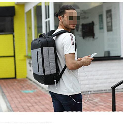Business Computer Tasche Männer Und Frauen Rucksack Schultern Reisetasche Black