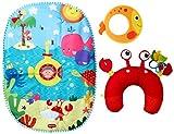 Tiny Love 33312036 Tummy-Time Fun Under the Sea - Unterwasserwelt-Spieldecke