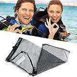 Ztoma Schwimm Tauch Tasche, Schnelltrocknend Schwimm Tauch Zugbeutel, Netz Beutel für Wassersport...