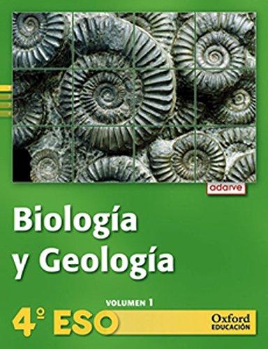 Biología y Geología 4º ESO Adarve Trimestral: Libro del Alumno - 9788467374353