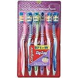 Colgate ZigZag Toothbrush (Medium, Pack Of 6)