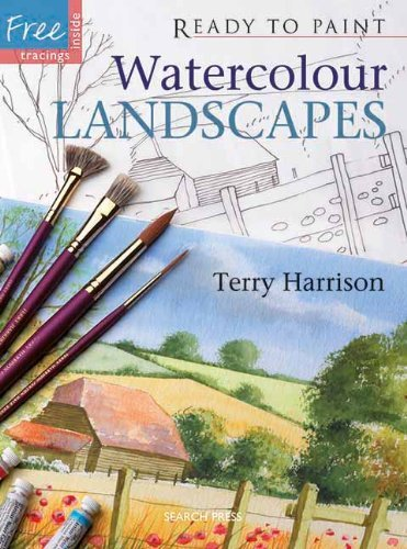 Watercolour Landscapes (Ready to Paint) by Terry Harrison (2008-04-01)