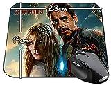 Iron Man 3 Robert Downey Jr Gwyneth Paltrow Tapis De Souris Mousepad PC