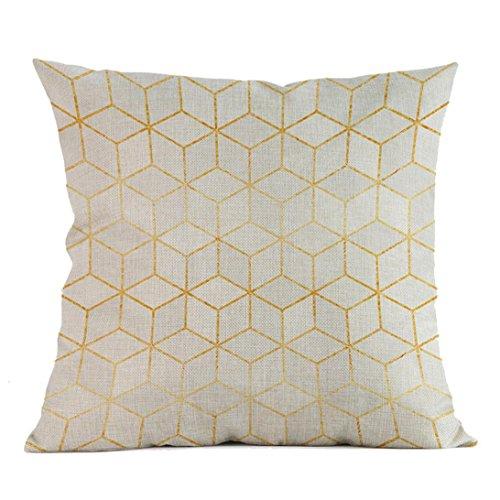 hshi Classic Geometrische Print Farbverlauf Kissenbezug, Creative Home Raum Sofa weiches Kissen Fall, C, - Home Kissen Classics