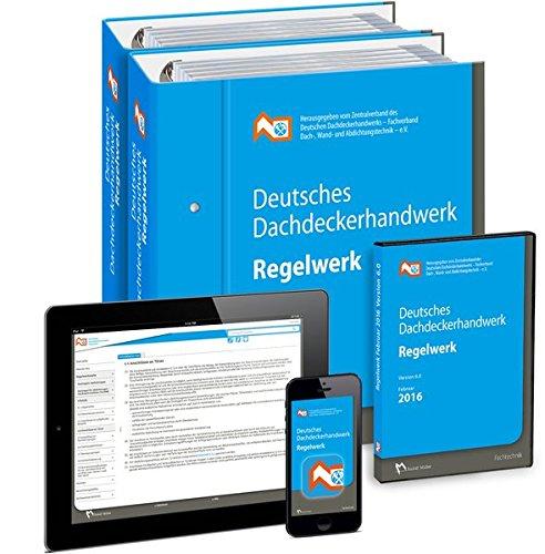 Deutsches Dachdeckerhandwerk Regelwerk: Komplettpaket
