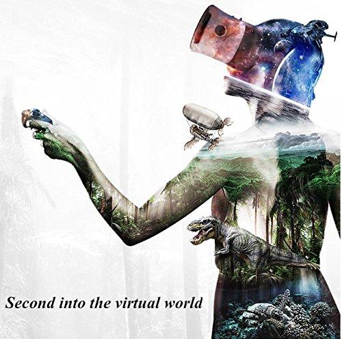 VR Headset, 3D Brille, TKSTAR 3D VR Headset Brille Glasses Virtual Reality Handy 3D Filme Videospiele für Apple iPhone, Samsung Huawei HTC Mehr Smartphone