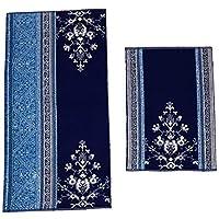Set Asciugamani Spugna 3+3 Viso E Ospite Sommaruga Foglie Vari Colori Casa, Arredamento E Bricolage