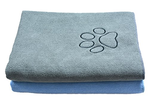 sinland-ultra-absorbent-microfiber-pet-towel-with-embroidered-paw-print-75cmx127cm-grey