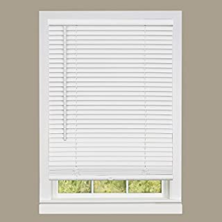 Achim Home Furnishings DSG233WH06 Deluxe Sundown G2 Cordless Blinds, 33