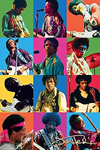Poster - Jimi Hendrix - Colors 24