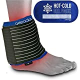 Luxury Reusable Hot And Cold Gel Ice Pack With Compress Ankle Wrap By Gelpacksdirect