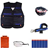 Nerf War Tactical Rifle Stock Dart Equipment Set para Nerf N-strike Elite Series Blasters Toy Gun YFMD