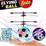 ONMET Bola Voladora RC, RC Flying Juguetes Drone Helicóptero con Recargable Shinning LED Llamativo Juguete Bola Encender Bola,RC Juguete para niños Adolescentes Outdoor Indoor Navidad Regalo