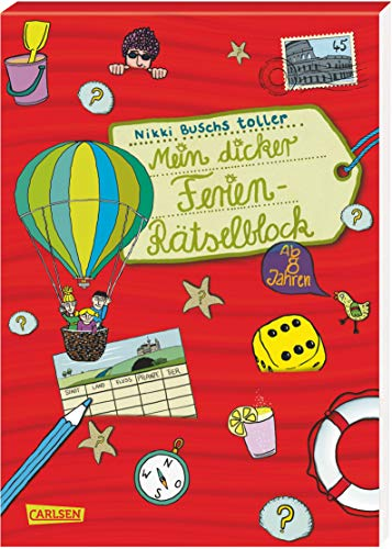 Mein dicker Ferien-Rätselblock: Band 3
