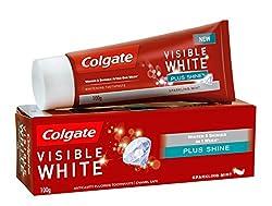Colgate Visible White Plus Shine Toothpaste - 100 g
