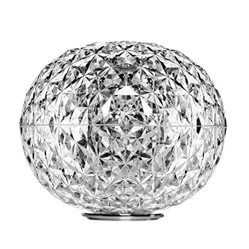 Kartell Planet LED Tischleuchte Ø33cm, kristall H 27cm Ø 33cm
