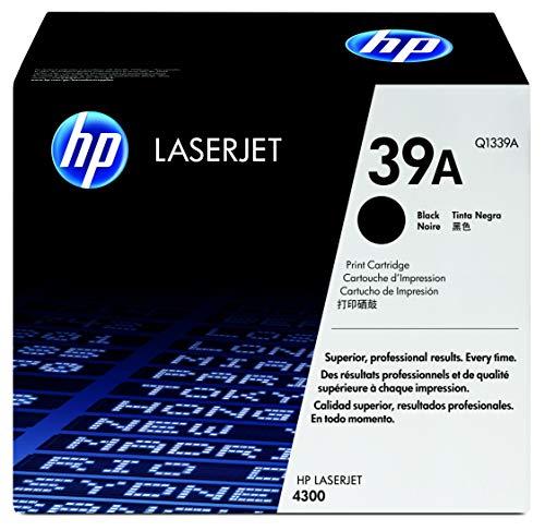 HP Q1339A Smart Druckkassette schwarz (18.000 Seiten) - Schwarz, Smart Druckkassette