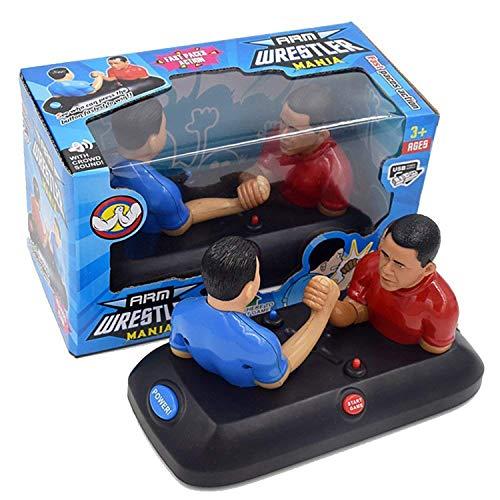 Hwamart Neuheit Armdrücken Brettspiel, Schraubwerkzeug Wrist Maschine Tabletop-Spiele mit Sound Compact kreativen Geschenk für Kindergeburtstag