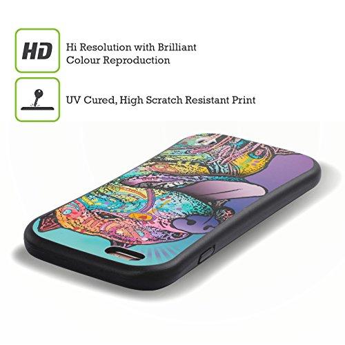 Ufficiale Dean Russo Lucy Cani 4 Case Ibrida per Apple iPhone 7 Plus / 8 Plus Riliad