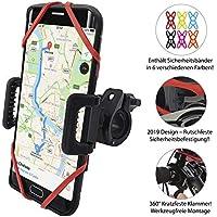TruActive Universal Handyhalterung Fahrrad für 4,0-6,5 Zoll Smartphone, 360° Drehbar