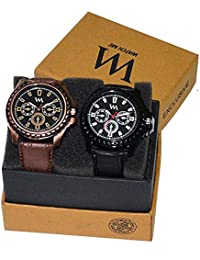 Watch Me Gift Combo Set For Him/Watches For Men/Watches For Boys (watches 3 Combo/watches 2 Combo) AWC-001-AWC... - B0778FLMW7