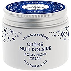Polaar - Crème Revitalisante Nuit Polaire aux Algues Boréales 50ml - Crème nuit visage anti-âge naturelle