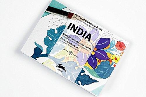 India: Postcard Colouring Book por Pepin Van Roojen