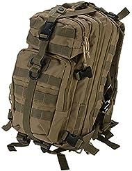 GXG Paintball Tasche Mini Tactical Backpacker/Rucksack, Coyote Tan, 63799
