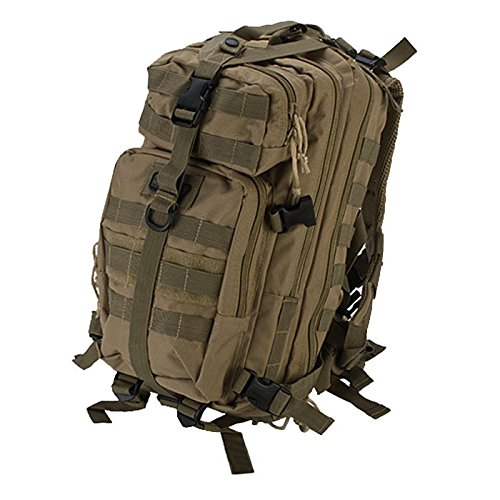 GXG PAINTBALL TASCHE MINI TACTICAL BACKPACKER/RUCKSACK - BALINES DE PLASTICO PARA AIRSOFT  COLOR  (COYOTE TAN)  TALLA STANDARD
