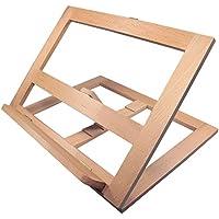 Artina Tisch-Staffelei Clichy Malbrett Zeichenbrett Buchstütze Holz-Staffelei zum Malen oder Zeichen zusammenklappbar