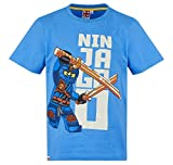 Lego Ninjago Kollektion 2018 T-Shirt 104 110 116 122 128 134 140 Shirt Jungen Neu Top Blau (Blau, 104-110)