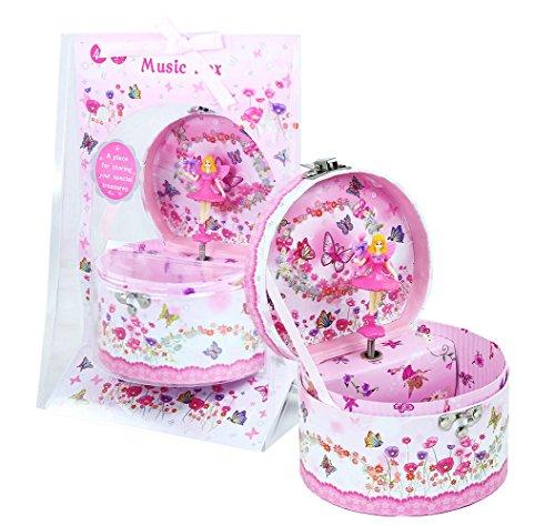 Bezauberndes Schmuckkästchen 'Blumenelfe' mit Spieluhr für Mädchen ab 4 Jahren