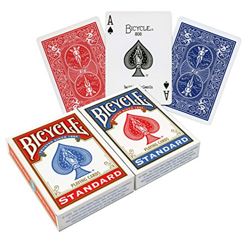 Bicycle US Playing Card 60808 - Lote de barajas inglesas (2 x 54 carta