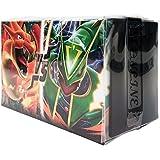 Pokemon Card XY BREAK Mega Battle Deck 123 Cards in 1 Box M Charizard EX + M Rayquaza EX Korea Version TCG + 3pcs Premium Card Sleeve