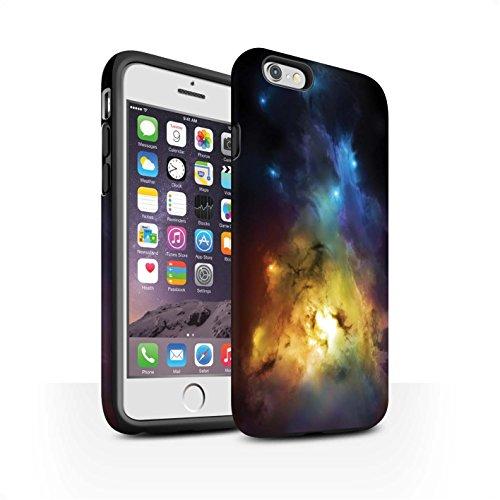 Offiziell Chris Cold Hülle / Matte Harten Stoßfest Case für Apple iPhone 6 / Pack 12pcs Muster / Fremden Welt Kosmos Kollektion Arcularius Nebel