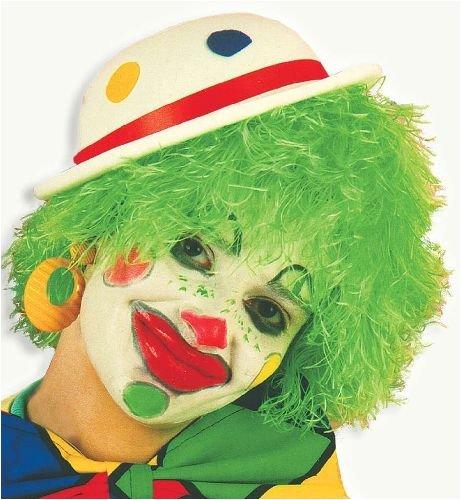 - Grüne Clown Perücke