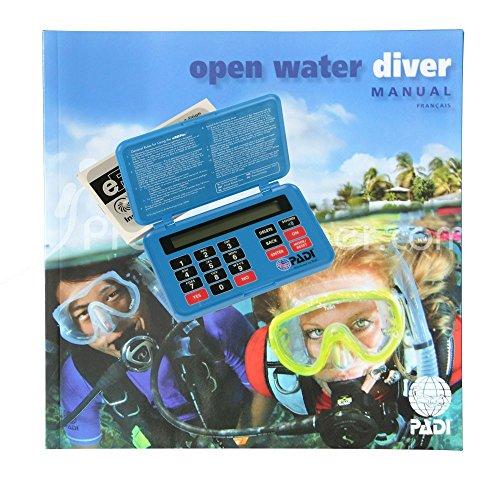 Manuel PADI Open Water Diver avec table de plongée électronique eRDP - VF