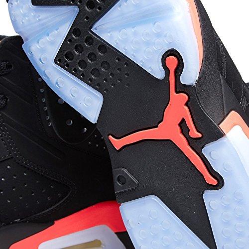 Nike Air Jordan 6 Retro, Chaussures de Sport Homme, Blanc, For Men black/infrared 23-black