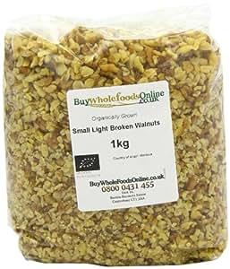 Buy Whole Foods Organic Walnuts Small Light Broken 1 Kg