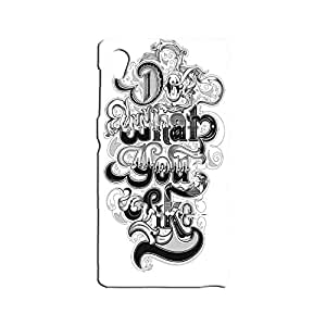 BLUEDIO Designer 3D Printed Back case cover for Sony Xperia Z1 - G4400